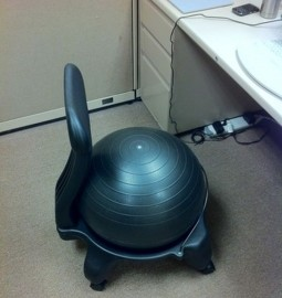 yoga ball chair 38