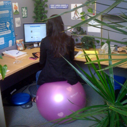 yoga ball chair 39